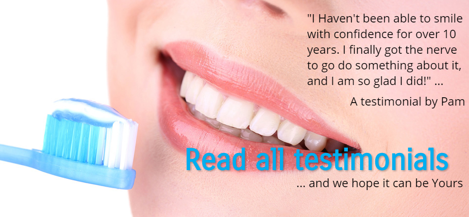 Smiling white teeth with Sk Family Dental reviews